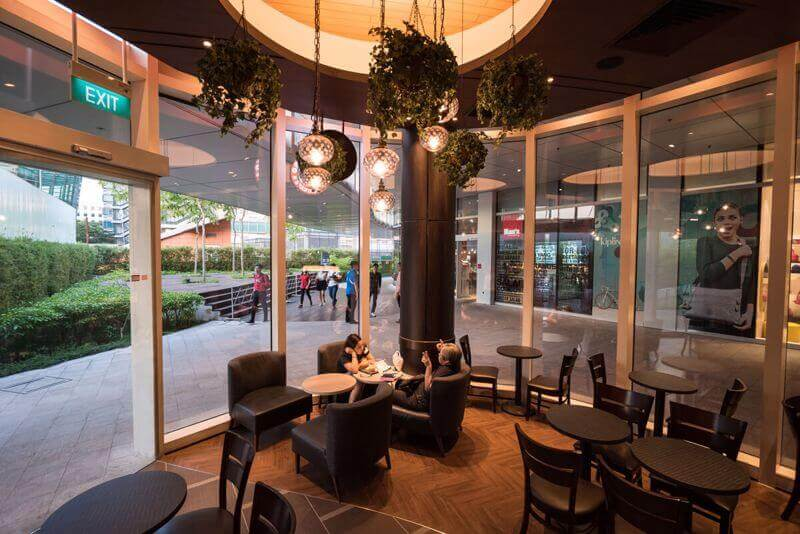 Alluring Cafe In Shopping Mall Near Changi Business Park