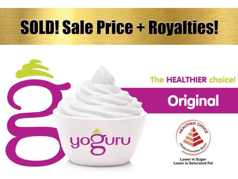 SOLD!! Yoguru--Premium Frozen Yogurt Group Of Companies (David 91455466)