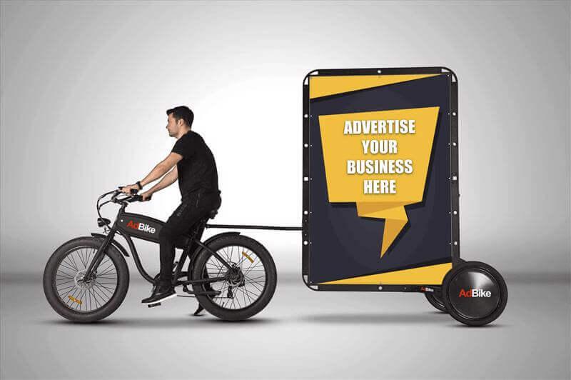 AdBike™ Billboard Advertising System For Sale $10,000
