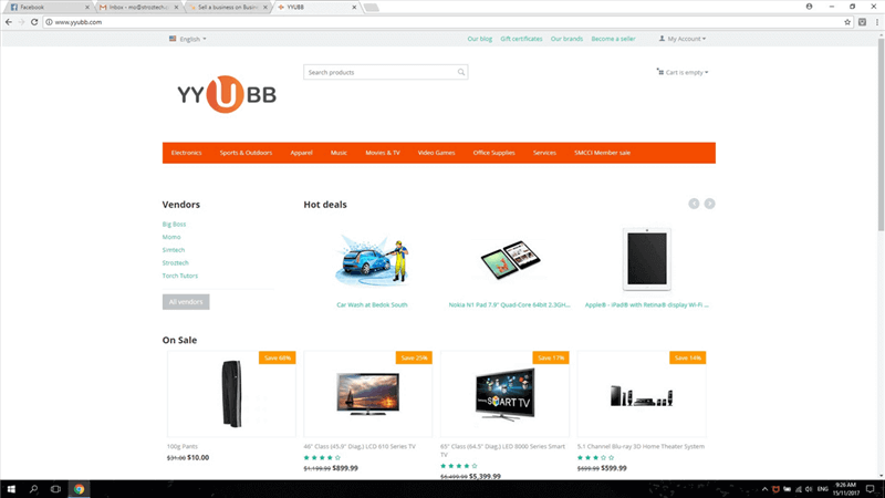 E-Commerce Business Along With Website For Sale
