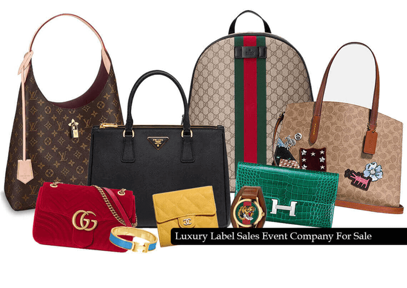 Well Known Luxury Bags Event Company For Sale
