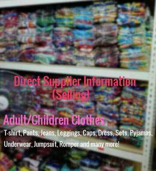 Selling > Supplier Information Only! Profitable (Good For Startup)
