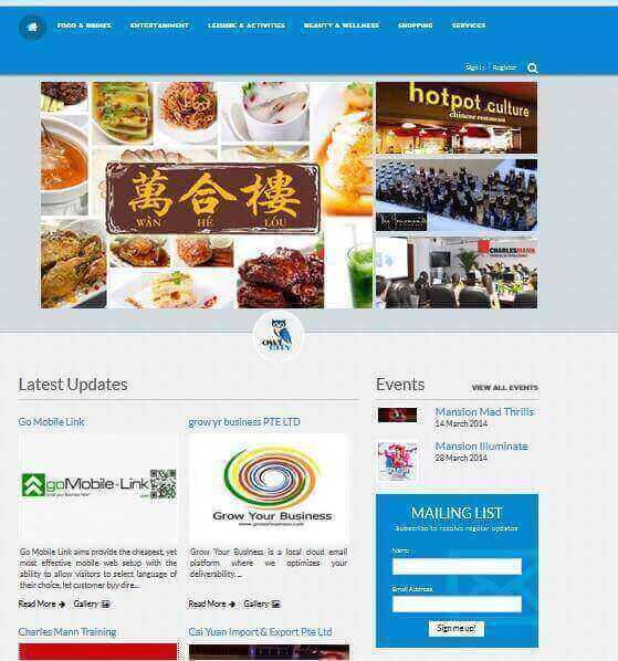 First Integrated Directory Business Portal For Sale