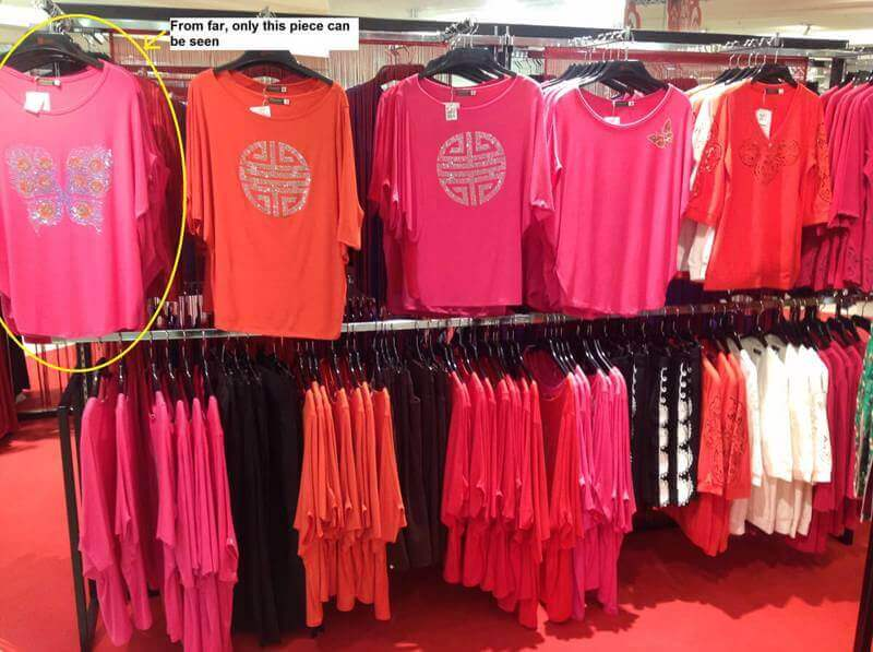 Assorted Women's Apparel With Display Racks For Sale