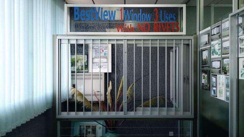 Patented Aluminium Window Products