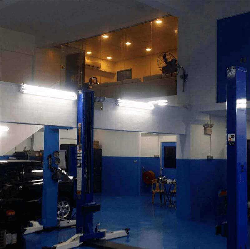 Car Workshop For Takeover