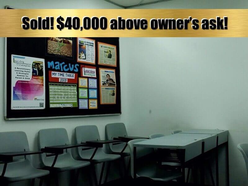 SOLD!!--Profitable Tuition Centre With Unique, Proprietary Syllabus (David 91455466)