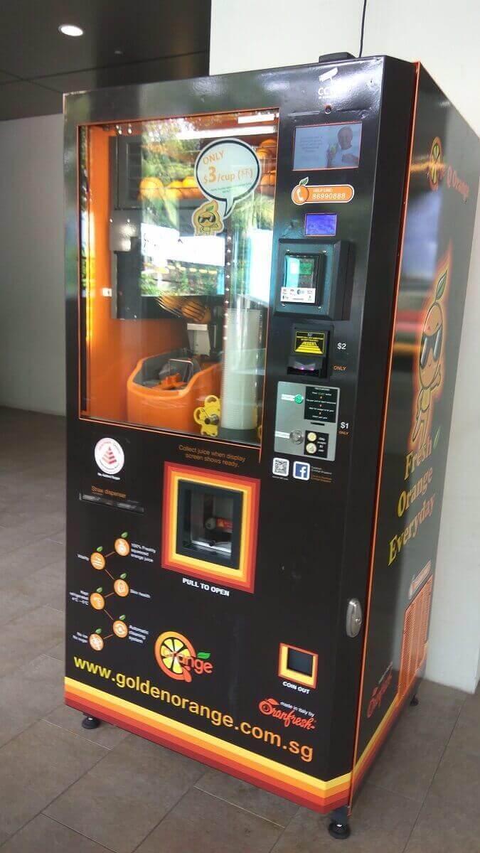 Orange Vending Business For Invest