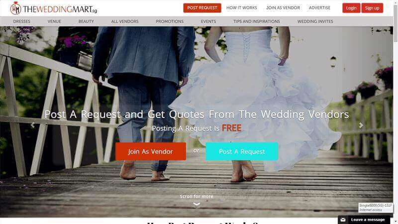 Wedding Portal For Sale