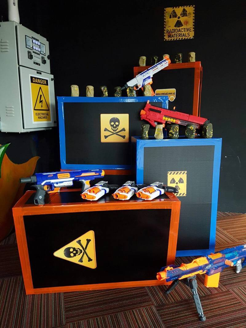 Indoor Nerf Shooting Arena Shop For Sale - Double Revenue Growth Mth On Mth