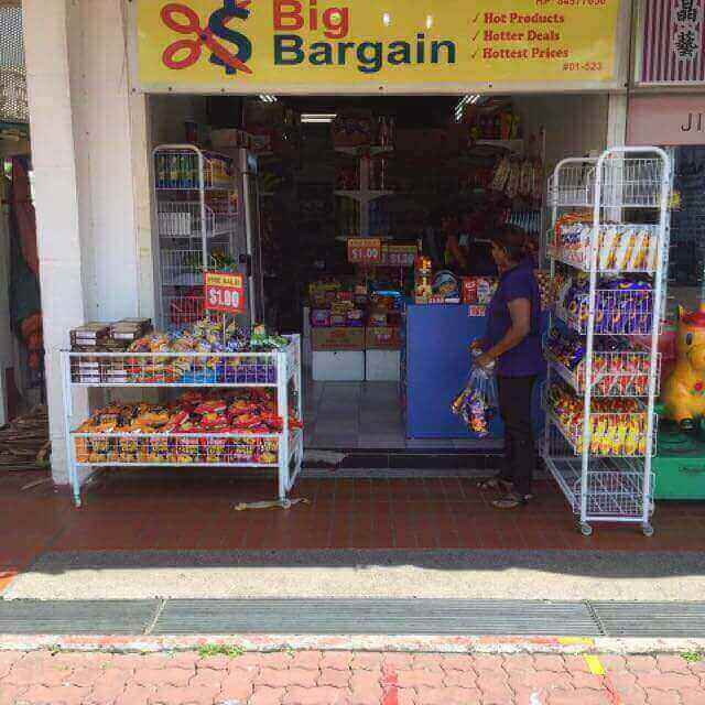 Value Shop For Take Over At Aljunied Crescent, Heavy Footfall/Good Loc