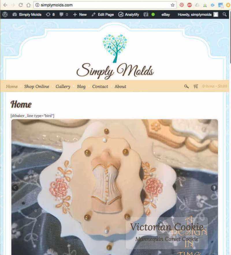 Handmade E-Commerce Baking Supplies Business For Sale
