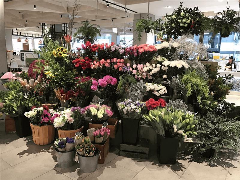 商场花店出售