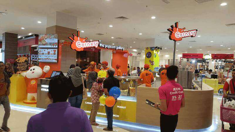 Singapore's Only Gourmet Popcorn Manufacturer and Franchisor