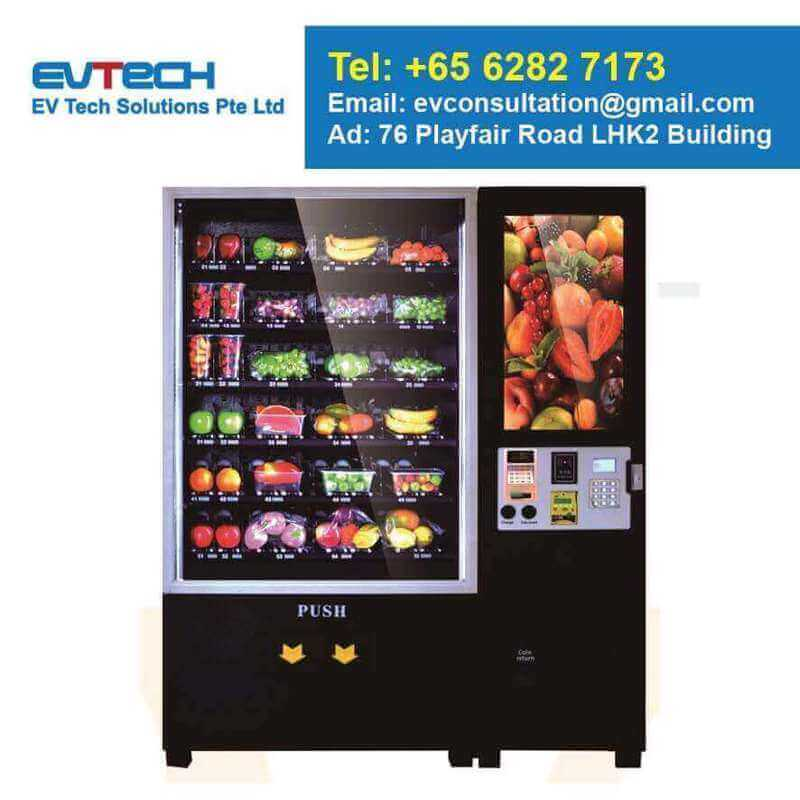 Smart Vending Machine For Sale