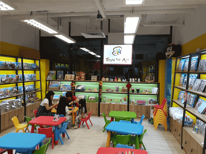 Art & Craft, Party Stuff Business For Sale At An Attractive Price
