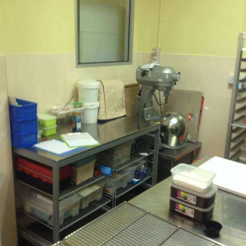 Fully Equipped Spacious Bakery Kitchen Location For Takeover
