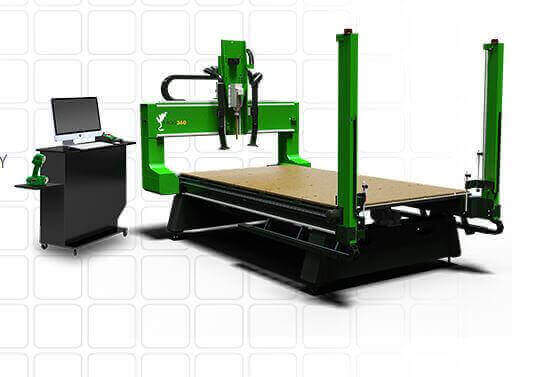 Full Set Of Frog3d 3D Foam Sculpture Machine For Sale