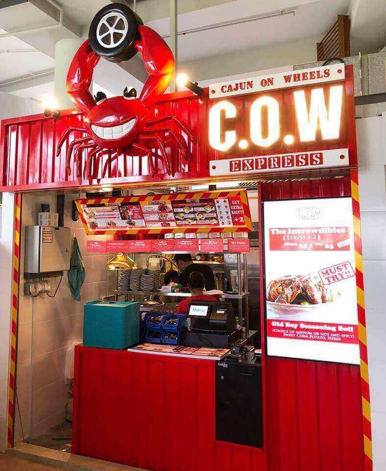 Cheap And Profitable Seafood Kiosk
