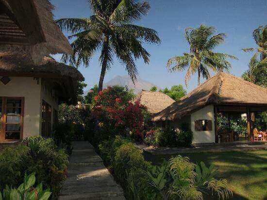 Beachfront Resort With Padi Diving Centre Along Tulamben Coast Bali