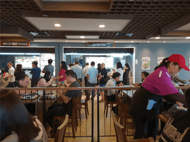 Foodcourt Stall For Takeover At Marina Square