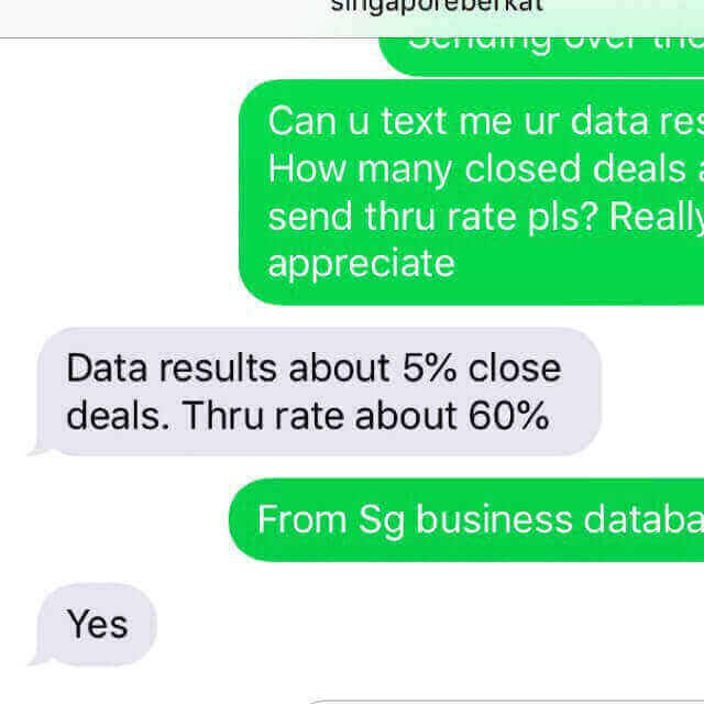 2019 SG Data Deal! B2B/B2C & Telemarketing Database !Boost KPI/Revenue!