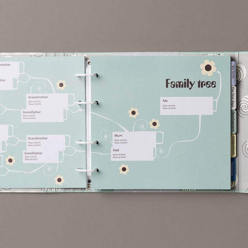 """""""My First Years"""" - a Danish designed scrapbook for the Asian market"""