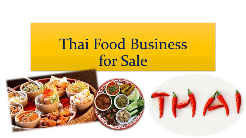 Thai Food Restaurant For Sale
