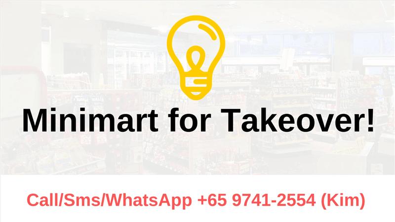 *Good Sales* Minimart @ Paya Lebar Area For Takeover! Call 9741 2554