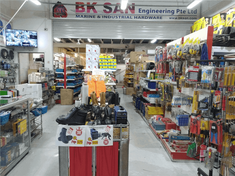 Hardware Store at Prime Industrial Location for Sale!!!