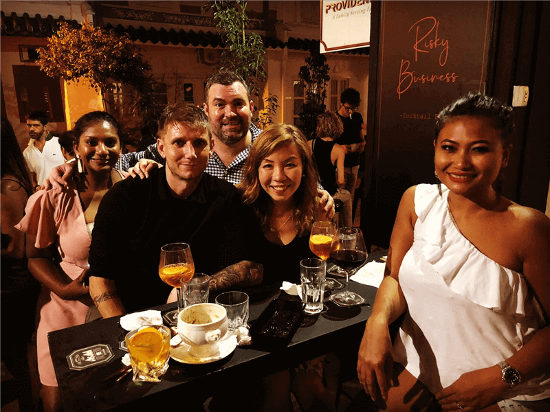 Cocktail Bar & Restaurant Duxton Hill