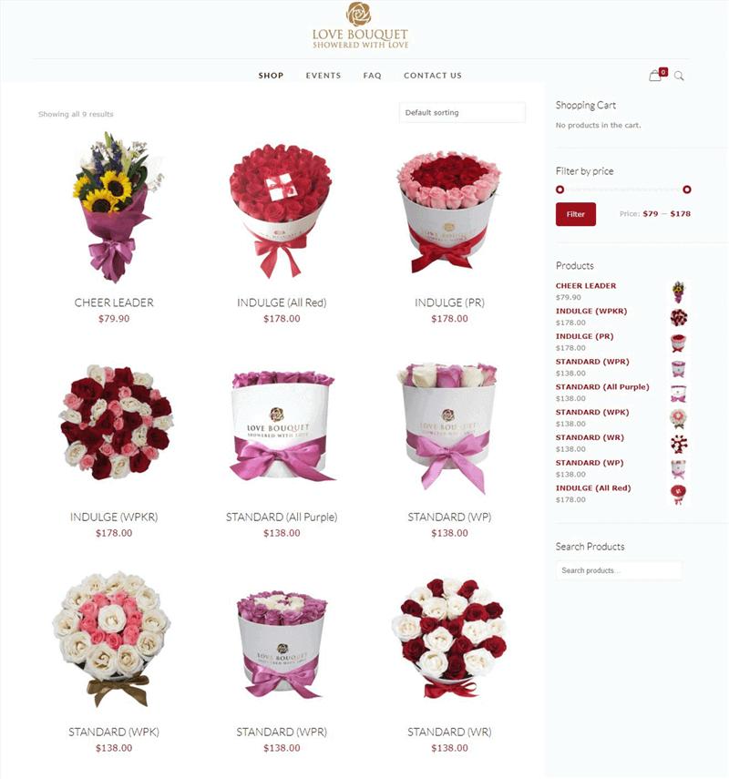 $11,000- Online Flower Shop For Sale!