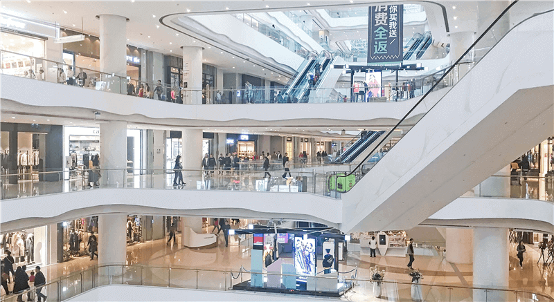 Sales of Retail Shopping Mall