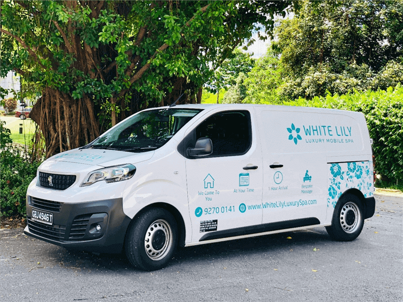 Business For Sale – Luxury Mobile Spa (S$ 75,000 Including Brand New Van)