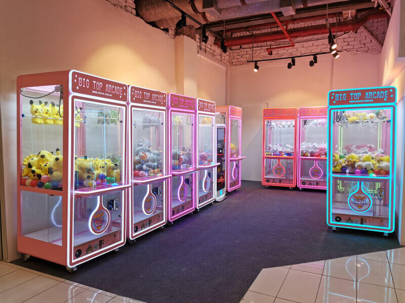 Toy Claw Machine Business In Singapore