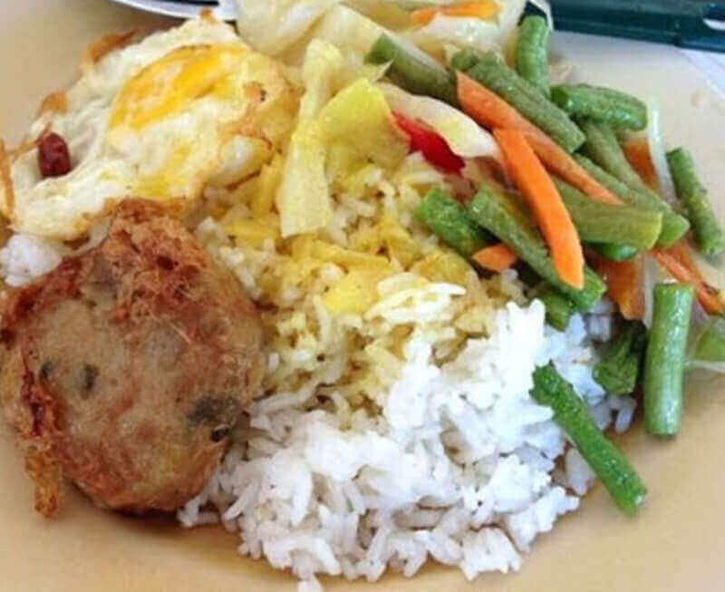 Mixed Malay Rice Fast Actions At Marine Parade - Sales 1 Day $2,000 , All Buyers Weiclomed