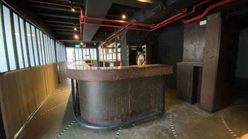 Fitted PUB Bar Bistro For Lease CBD Shophouse