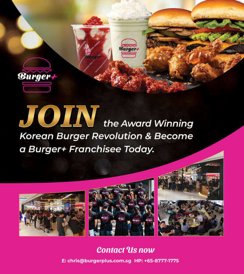 Come and Join Us in Becoming a Burger+ Franchisee