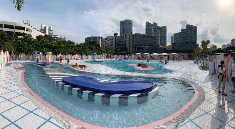 Singapore's Largest Dog Waterpark - Wag & Wild