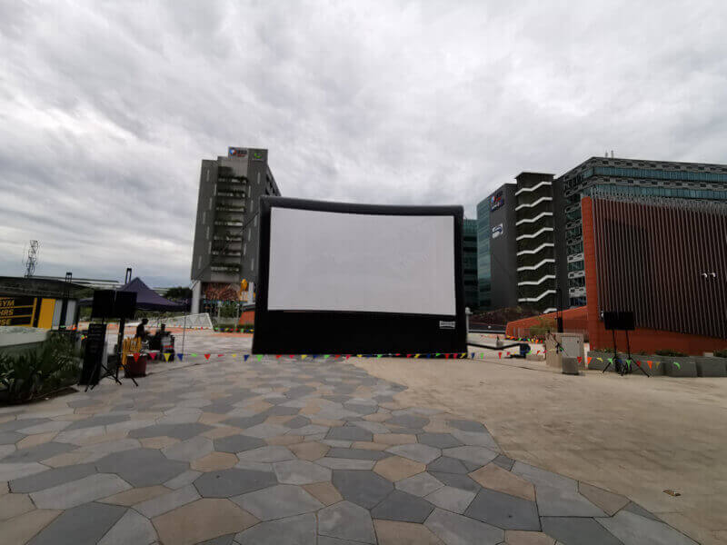 Event Management Company In Singapore Which Specializes In Outdoor Movie Screen Seeking New Owners
