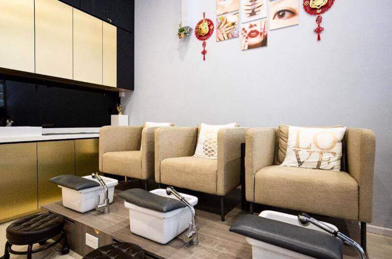 Full Equip Of Manicure And Pedicure Salon For Sale/Takeover With Low Rent In CBD Area