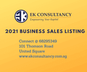 * OCT 21 - EXCLUSIVE BUSINESS FOR SALES LISTING *