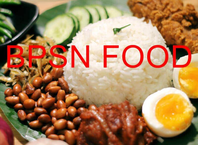 BPSN F&B food