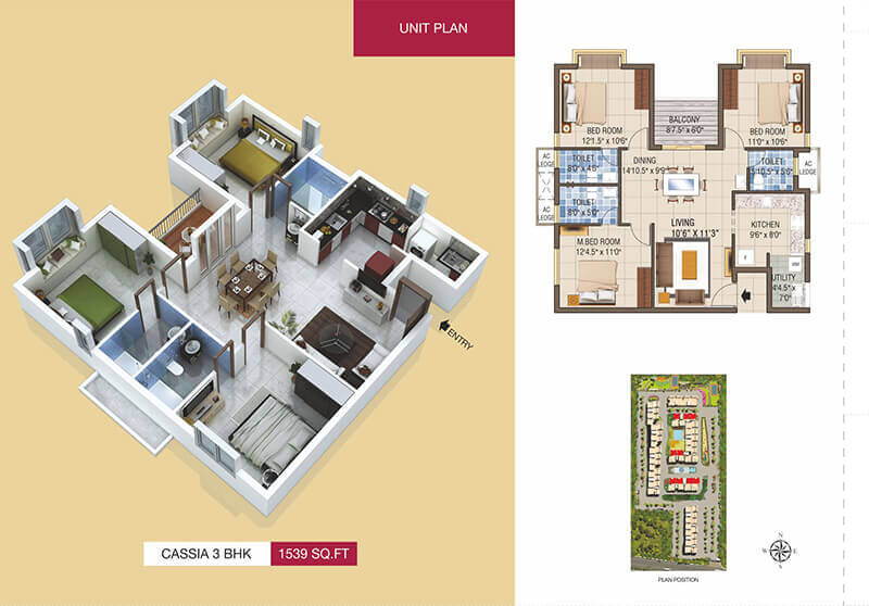 Luxurious Apartment For Sale On Radial Road, Chennai