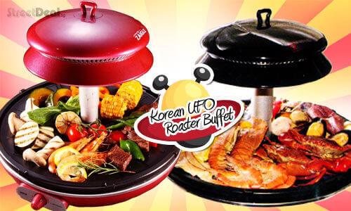 Korean UFO Roaster Buffet