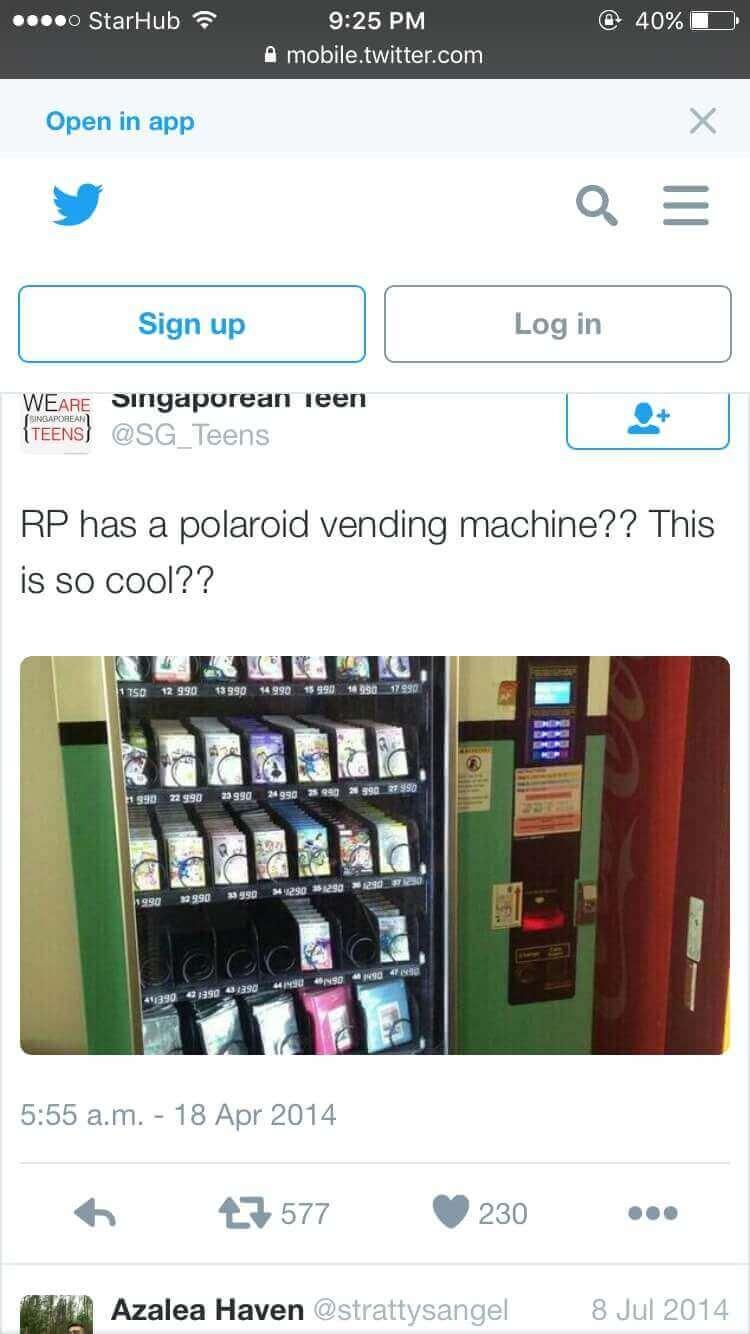 Polaroid Vending Machine Business For Sale