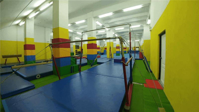 Adult And Kid's Gymnastics / Wellness Centre At District 10 For Take Over