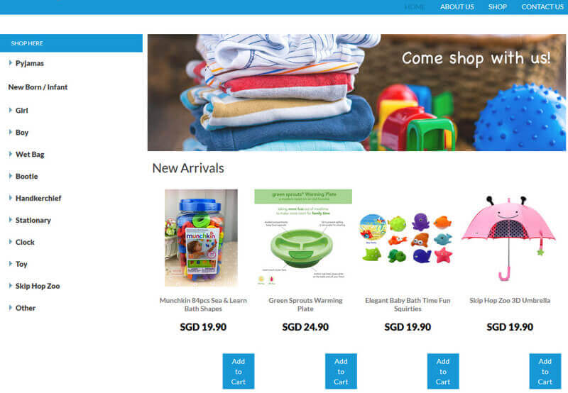 Ecommerce Online Store (Pic Claimable)