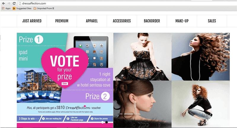 Online Fashion E-Boutique