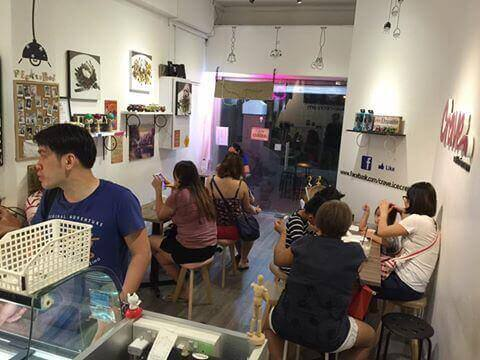 Icecream Cafe Take Over